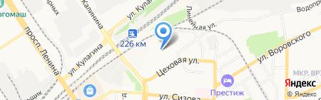 Алтайская Рекламная Компания на карте Барнаула