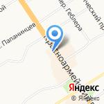 Рыба.Рис на карте Барнаула