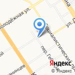 Дядя Дёнер на карте Барнаула