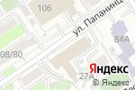 Схема проезда до компании Альфа-Т в Барнауле