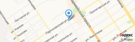 Вырастай-ка на карте Барнаула