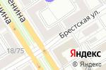 Схема проезда до компании 4hands в Барнауле