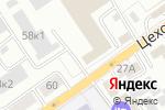 Схема проезда до компании Русто в Барнауле