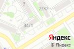 Схема проезда до компании Финская обувь в Барнауле