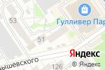 Схема проезда до компании Ли-лу в Барнауле