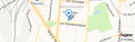 Банкомат Азиатско-Тихоокеанский Банк на карте Барнаула