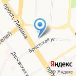 РоссельхозБанк на карте Барнаула