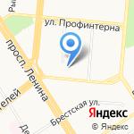 Гуревич и К на карте Барнаула