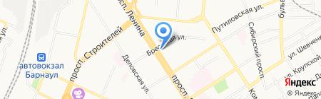 Арбитражный суд Алтайского края на карте Барнаула