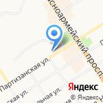 РБК на карте Барнаула