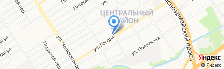 Компания по аренде дизельных электростанций на карте Барнаула