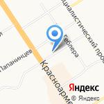 Комиссия по делам несовершеннолетних и защите их прав Администрации Центрального района на карте Барнаула