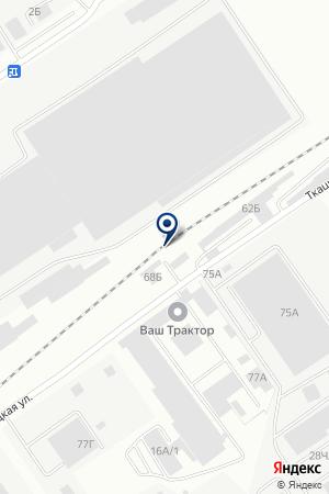 АЗС РАМОН на карте Барнаула