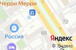 Схема проезда до компании Пей чай в Барнауле