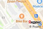 Схема проезда до компании Байк-бар в Барнауле