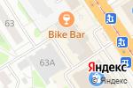 Схема проезда до компании Belle в Барнауле