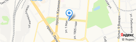 Экспертпроектстрой на карте Барнаула