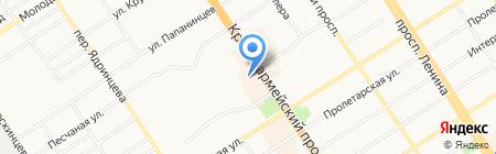 Belle на карте Барнаула