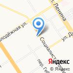 Дворец Зрелищ и Спорта им. Г.С. Титова на карте Барнаула