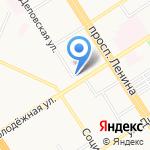 MADLEN на карте Барнаула