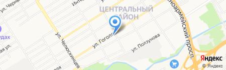 Beer Citi на карте Барнаула