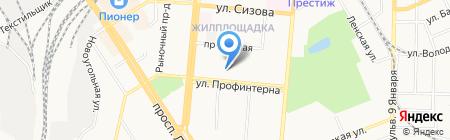 Свобода От Кредитов на карте Барнаула