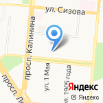 БизнесАналитика на карте Барнаула