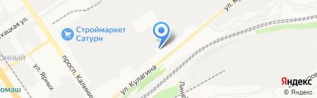 Сибирский корпоративный энергетический учебный центр на карте Барнаула