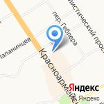 Адвокатский кабинет Фахртдиновой Н.Г. на карте Барнаула