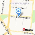 Негосударственная экспертиза проектной документации и инженерных изысканий в строительстве на карте Барнаула