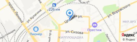 Следственный отдел г. Барнаула на карте Барнаула