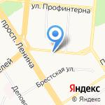 Сканди на карте Барнаула