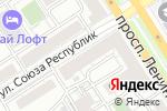 Схема проезда до компании АйПро в Барнауле
