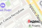 Схема проезда до компании Натали Стайл в Барнауле