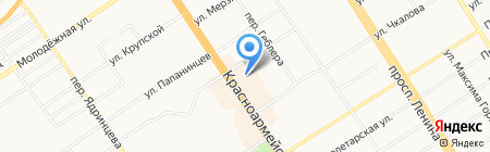 RICH BAR HOME на карте Барнаула