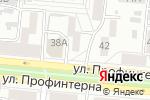 Схема проезда до компании Пожарный рубеж Фоминых в Барнауле