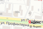 Схема проезда до компании Бизнес Аналитика в Барнауле