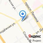 Алтайский краевой театр драмы им. В.М. Шукшина на карте Барнаула