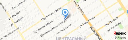 Компания по производству автомобильных палаток на карте Барнаула