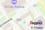 Схема проезда до компании Спортивный Барнаул в Барнауле