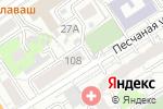 Схема проезда до компании Центральная, МУП в Барнауле