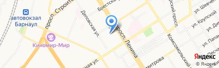 Прокуратура Алтайского края на карте Барнаула