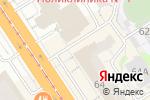Схема проезда до компании MODA клуб в Барнауле