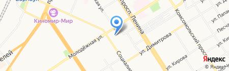 Союз театральных деятелей РФ на карте Барнаула