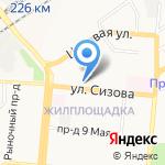 Алтайская таможня на карте Барнаула