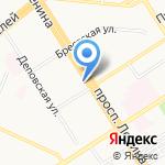 Капризуля на карте Барнаула