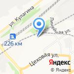 АВТОЦЕНТР-СИДР на карте Барнаула