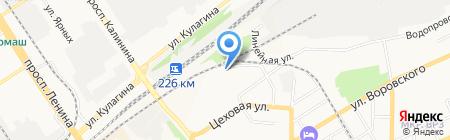 Мастер+ на карте Барнаула