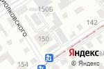 Схема проезда до компании Дешевая Печать в Барнауле