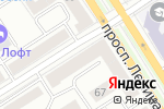 Схема проезда до компании Gulliver в Барнауле